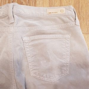 Ag Adriano Goldschmied Pants - AG The Stevie slim-straight stretch micro-cord 29R